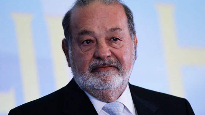 Richest man in the world: Carlos Slim
