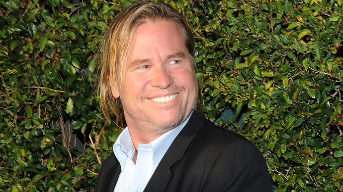 Back in the spotlight: Val Kilmer