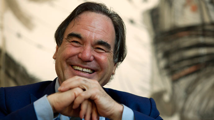 Reformed bad boy: Oliver Stone