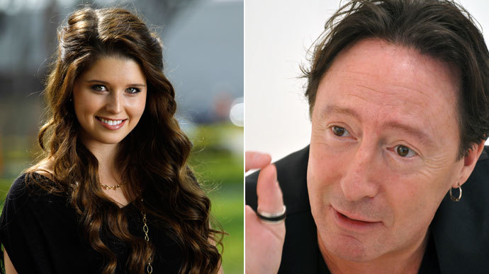 Famous offsprings: Julian Lennon and Katherine Schwarzenegger
