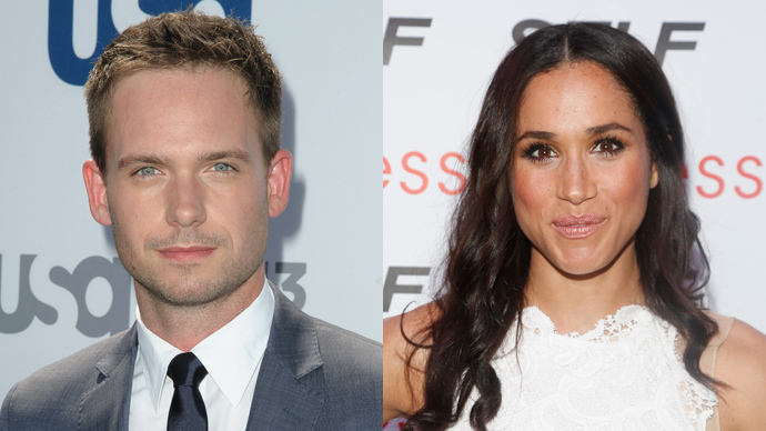 Suits: Patrick J. Adams and Meghan Markle