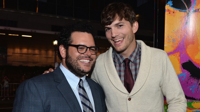 Ashton Kutcher and Josh Gad