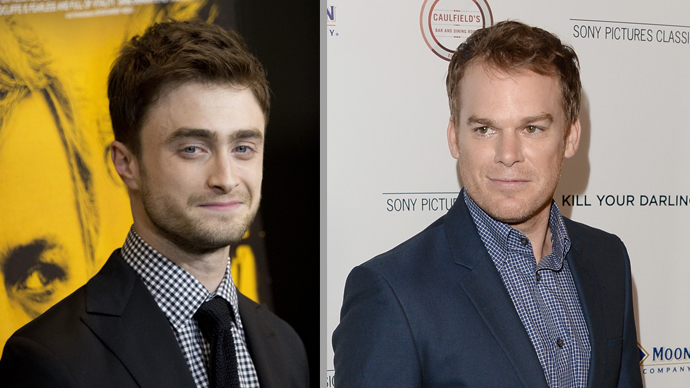 Daniel Radcliffe and Michael C. Hall