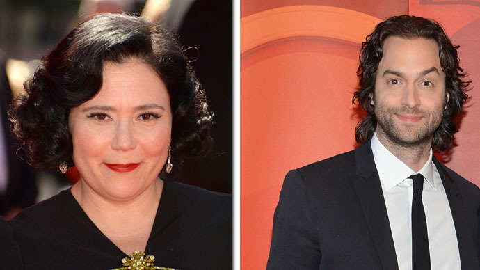 Alex Borstein and Chris D'Elia