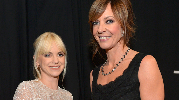 ​Allison Janney and Anna Faris
