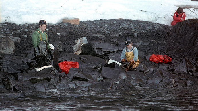 the exxon valdez oil spill disaster essay The tools you need to write a quality essay or term paper but sometimes oil is a problem an oil spill is a leakage from an the exxon valdez oil spill.