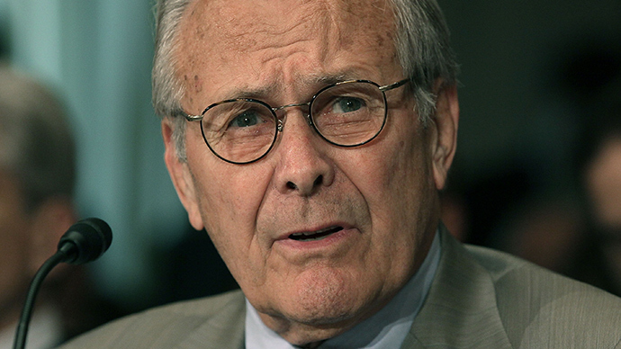 Deciphering Donald Rumsfeld -- the former defense secretary becomes subject of Oscar-winner's latest documentary