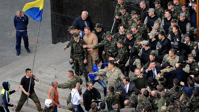 Southeastern Ukraine: Crisis diary