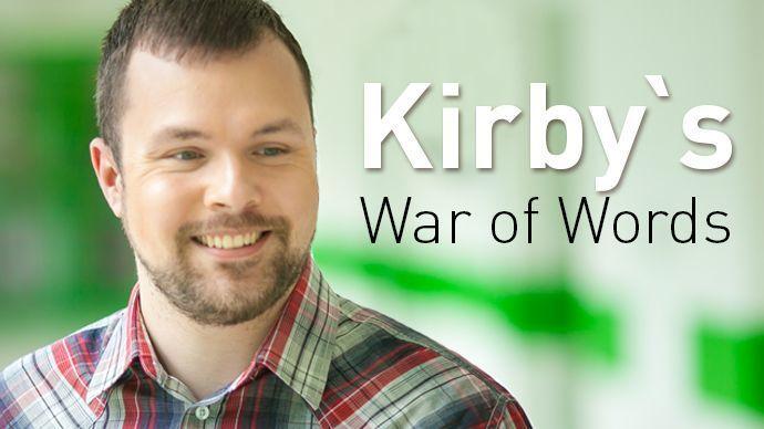Kirby's War of Words-Mark Sleboda