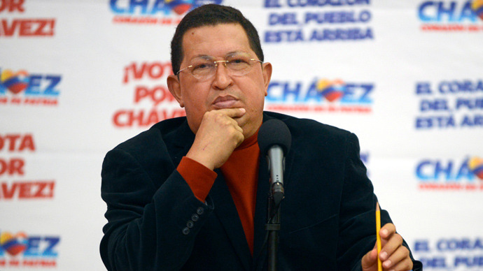 Hugo Chavez (AFP Photo / Juan Barreto)