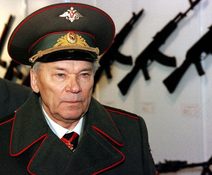 Mikhail Kalashnikov.(Reuters)