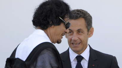 Sarkozy's Gaddafi campaign scandal: Police search office of French ex-Interior Minister