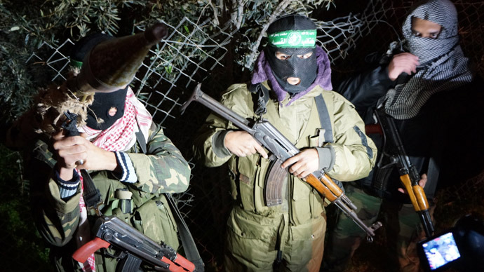 Gaza's night guard: Stalking with Qassam fighters