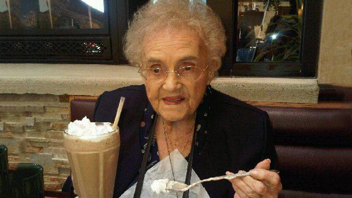 Too old for Facebook: 104yo woman forced to lie about her age