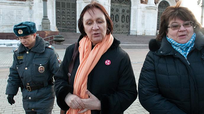 Irina Karatsuba and Elena Volkova. (RIA Novosti / Anton Stekov)