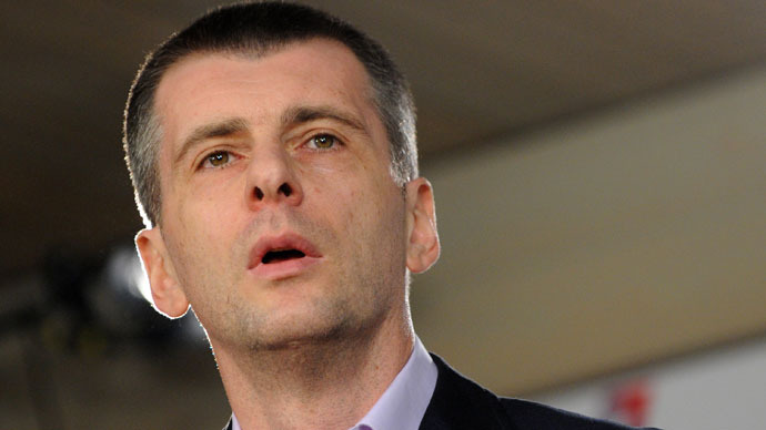 Prokhorov sells share in Russia's major gold business for $3.6 billion