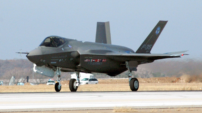 F-35 Joint Strike Fighter Lightning II (AFP Photo / Files / HO / US Navy / Keith Simmons)