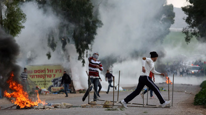 Stun grenades and rubber bullets: IDF and Palestinians clash following prisoner's funeral