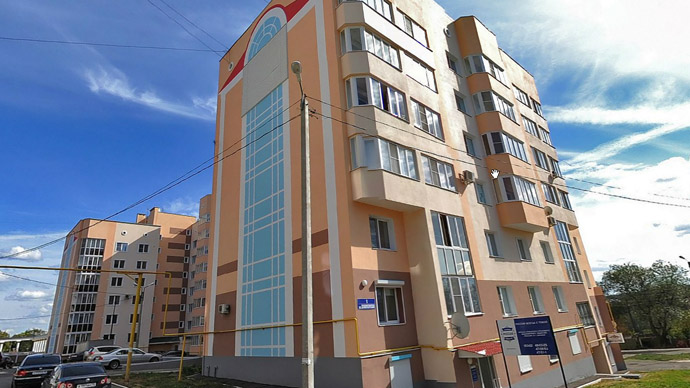 Depardieu's new address. Saransk, Russia. Image from maps.yandex.ru