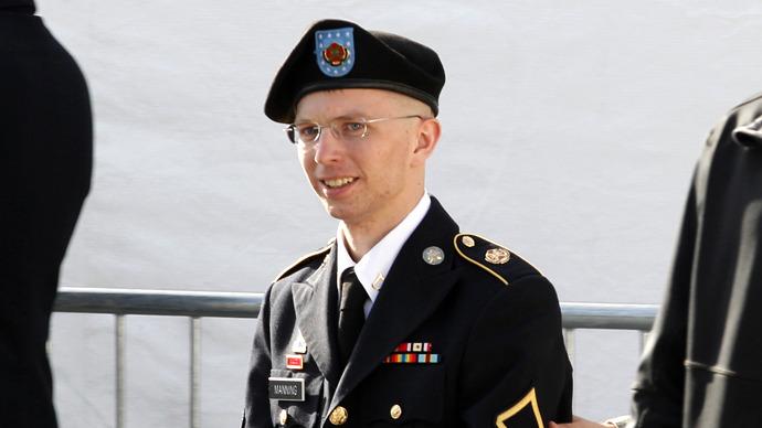 Bradley Manning. (Reuters / Jose Luis Magaua)