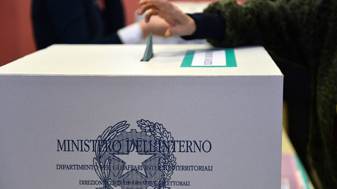 Italian election cliffhanger raises concerns over eurozone