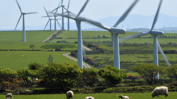UK onshore wind farms to create more carbon dioxide - report