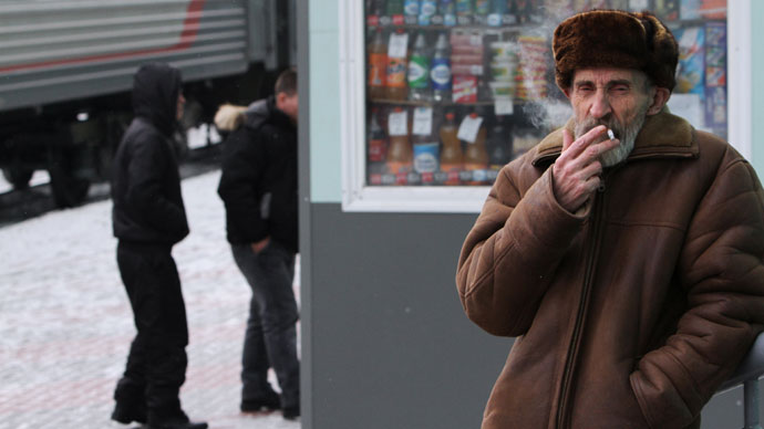 Russia's ban on smoking in cafés, restaurants comes into force