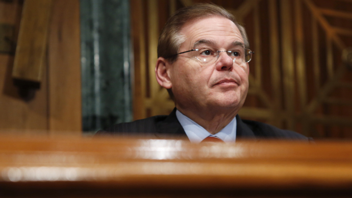 Escort claims Senator Menendez paid her for sex