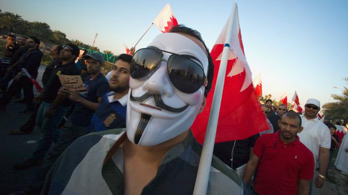 Bahrain bans 'Anonymous' Guy Fawkes mask