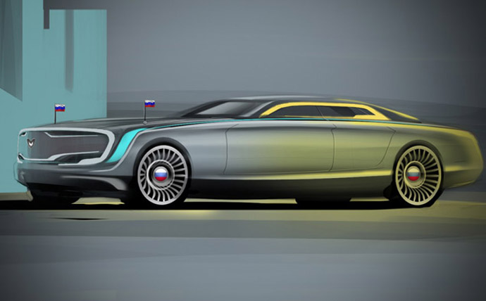 Concept by Vladimir Filatov (image from Motor.ru)