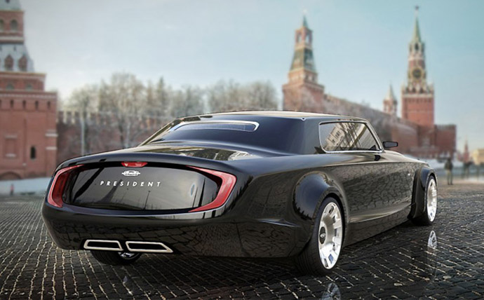 Concept by Yaroslav Yakovlev and Bernard Weel (image from Motor.ru)