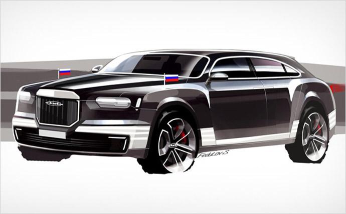 Concept by Sergey Fedulov (image from Motor.ru)