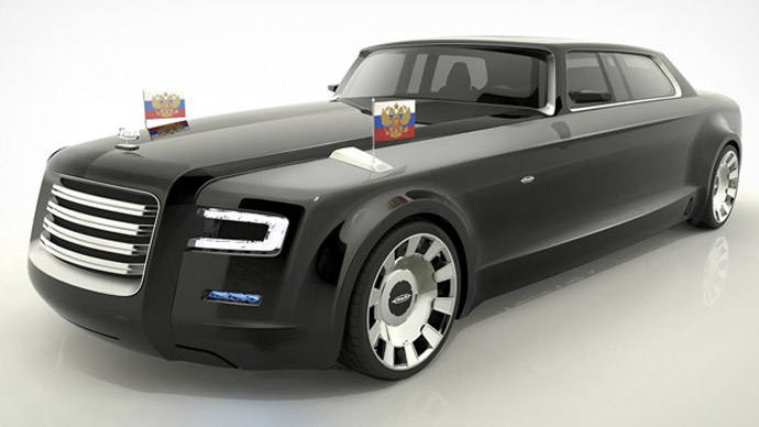 Putin's new limo: Top 10 Russian-made designs in online contest