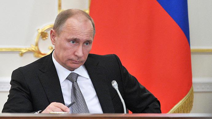 Russia's President Vladimir Putin. (AFP Photo / RIA Novosti / Alexey  Nikolsky)