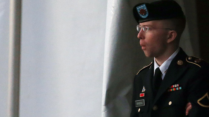 Bradley Manning (Mark Wilson/Getty Images/AFP)