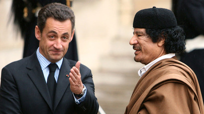 Gaddafi claims over financing Sarkozy presidential campaign reappear on French TV