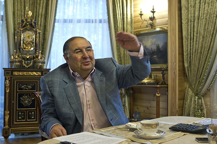 Metalloinvest founder Alisher Usmanov. (Reuters / Maxim Shemetov)
