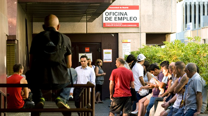 Eurozone unemployment hits record-high 11.9%