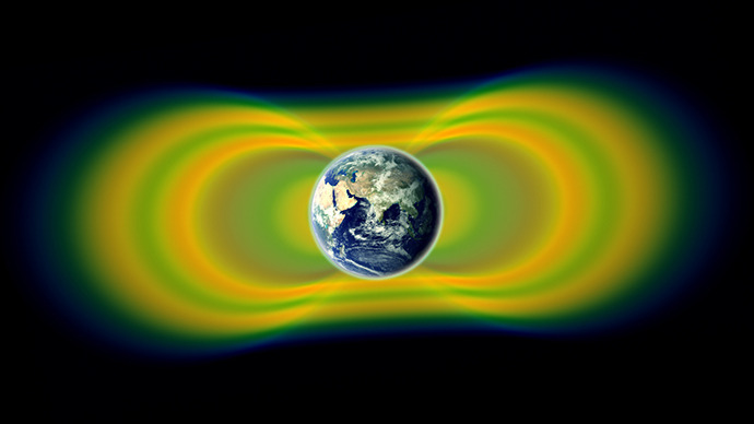 NASA probe detects third radiation belt around Earth
