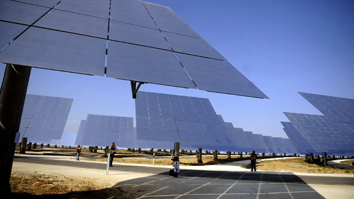 Solar power can outshine oil in a few decades - Shell