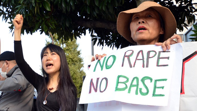 Two US Navy sailors convicted of rape that shocked Japan