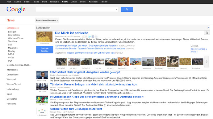 'Google News Tax' battle: German lawmakers back watered-down Internet copyright law