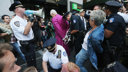 NYPD agent arrested for biker beating spied on Occupy activists