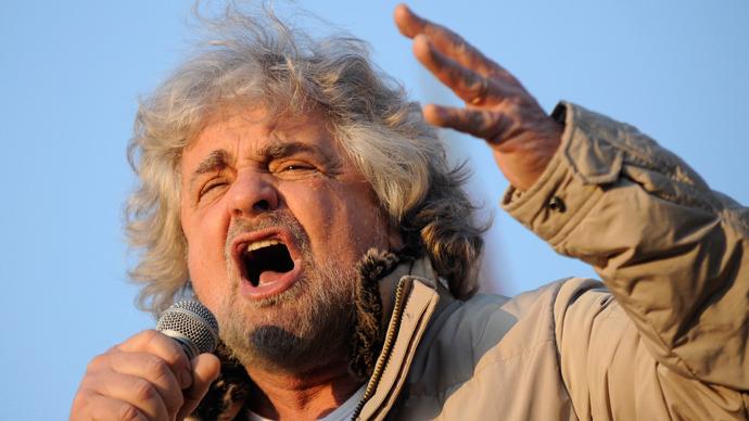 Beppe Grillo (Reuters / Giorgio Perottino)