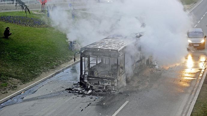 Ethnic clashes in Macedonia leave dozens injured (PHOTOS)