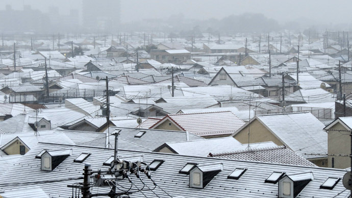 6 dead, including women and children, as northern Japan buried in heavy snow