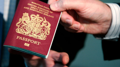 UK to confiscate passports from 'suspected' terrorists, criminals, football hooligans