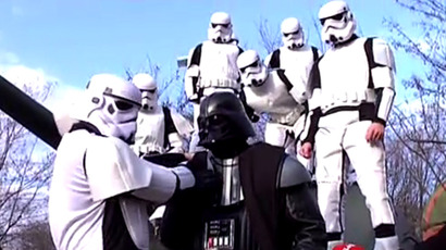 Darth Vader wants to run for Ukrainian presidency (VIDEO)
