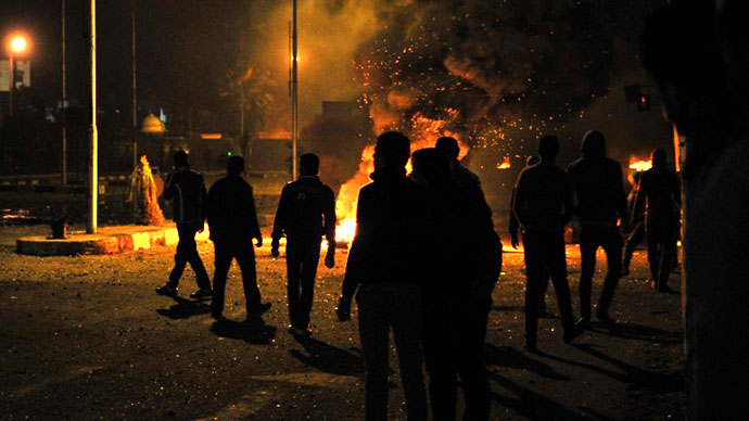 Port Said violence escalates ahead of contentious Saturday verdict