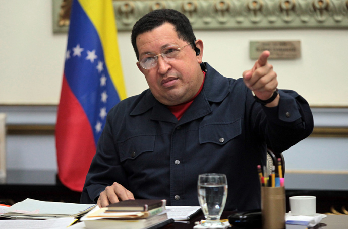 Hugo Chavez (AFP Photo / Presidencia)